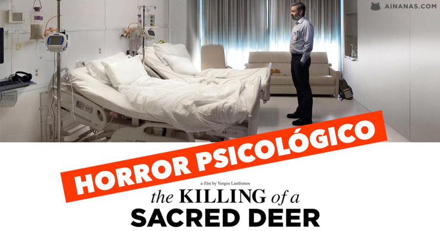 HORROR PSICOLÓGICO: Killing of a Sacred Deer (2017)
