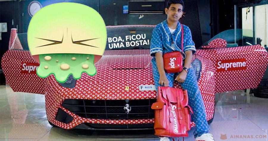 Puto de 15 anos tem oficialmente o Ferrari Mais Azeiteiro que já Vimos