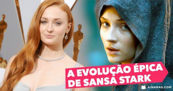 A EVOLUÇÃO ÉPICA da Sansa Stark