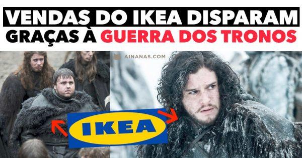 Venda de Tapetes do Ikea DISPARA devido à Guerra dos Tronos