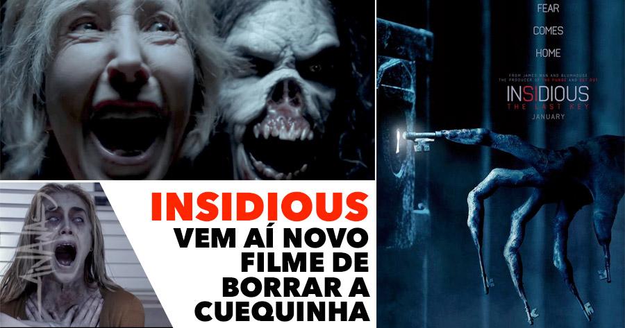 INSIDIOUS: THE LAST KEY – novo capítulo da saga de terror!