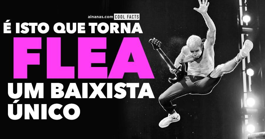 O que torna o FLEA um baixista único