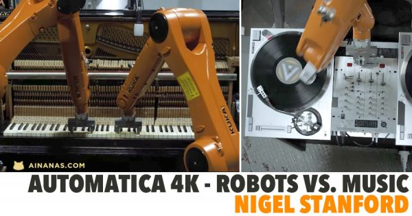 AUTOMATICA 4k - Robots Vs. Music - Nigel Stanford