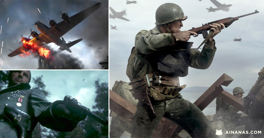 CALL OF DUTY: WWII ( Story Trailer épico )