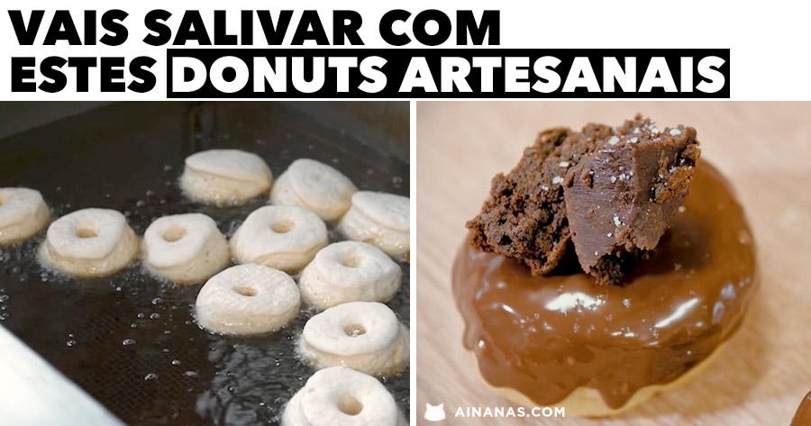 VAIS SALIVAR com estes Donuts Artesanais