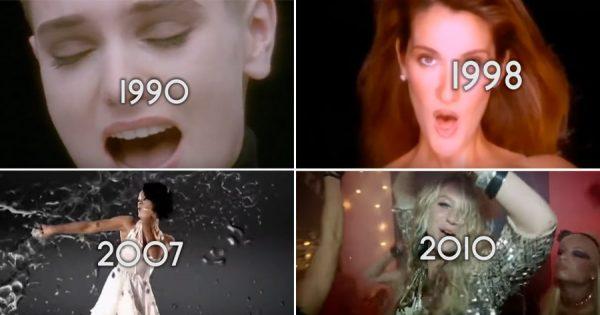 A Maior Música do Ano entre 1990 e 2017