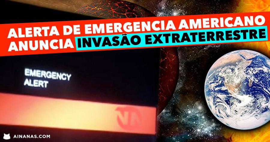 Alerta de Emergência para INVASÃO EXTRATERRESTRE na TV da California