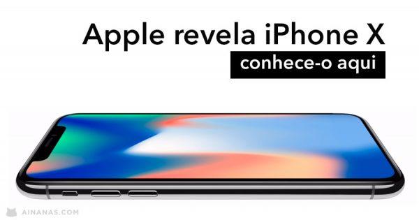 iPhone X: Apple revelou novo modelo