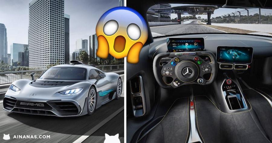 Aí está o tão aguardado Mercedes-AMG Project One