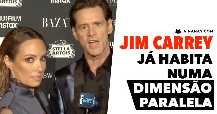 JIM CARREY já habita numa DIMENSÃO PARALELA