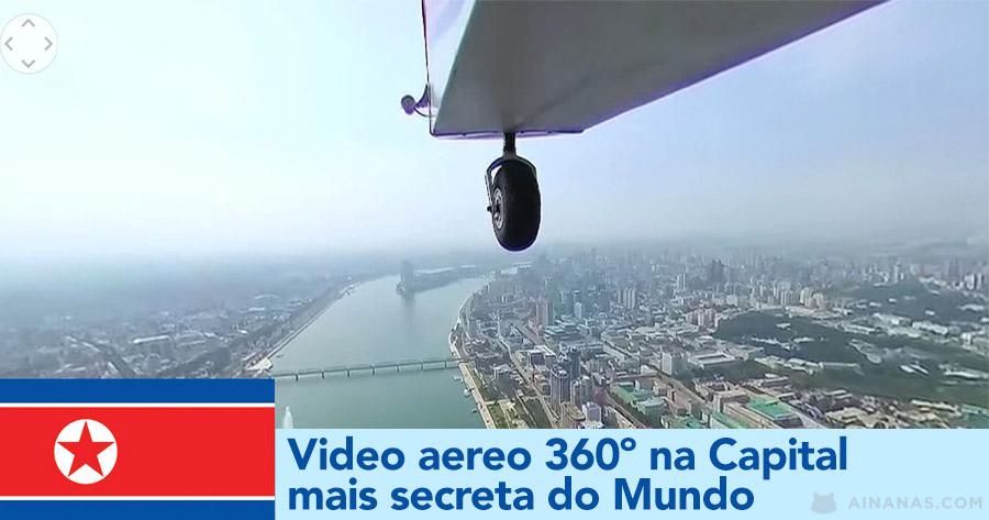 Video Aereo 360º na capital mais Secreta do Planeta