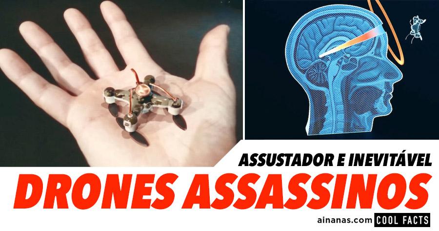 DRONES ASSASSINOS: assustadoramente inevitável