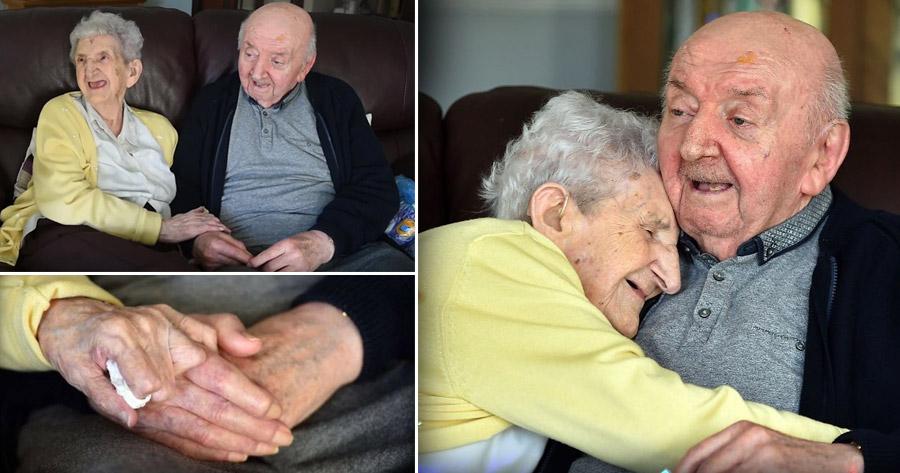 Mulher de 98 anos muda-se para um lar.. para cuidar do filho de 80 anos!