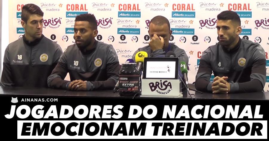 Jogadores do Nacional deixam COSTINHA quase em Lágrimas