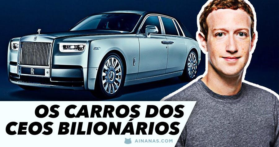 Os carros dos CEOS mais ricos do Mundo