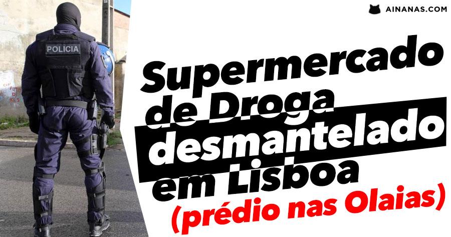 """""""Supermercado"""" de Droga Desmantelado em Lisboa"""