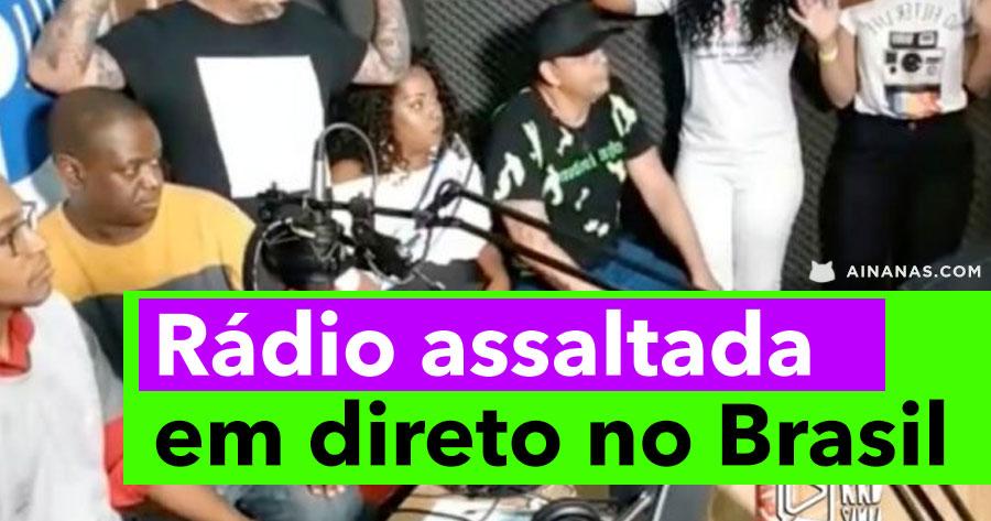 Estação de Rádio ASSALTADA EM DIRETO