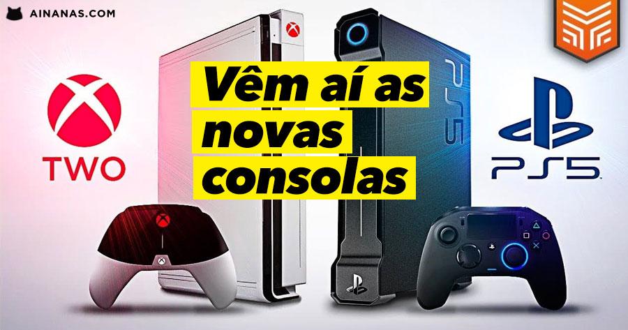 Vem aí PLAYSTATION 5 e XBOX ANACONDA