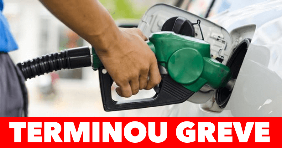 TERMINOU A GREVE: Já vai haver combustível!