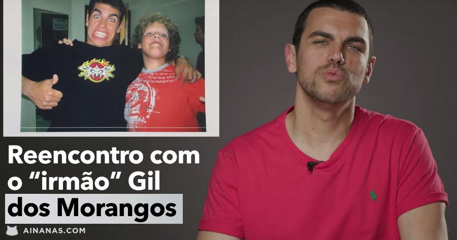João André reencontra-se com GIL DOS MORANGOS COM AÇUCAR!