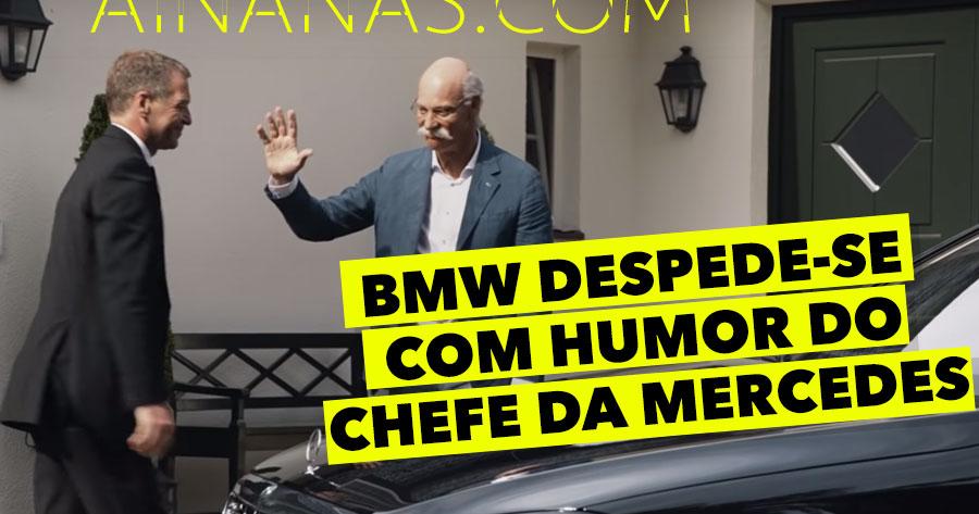BMW despede-se com humor do Chefe da Mercedes