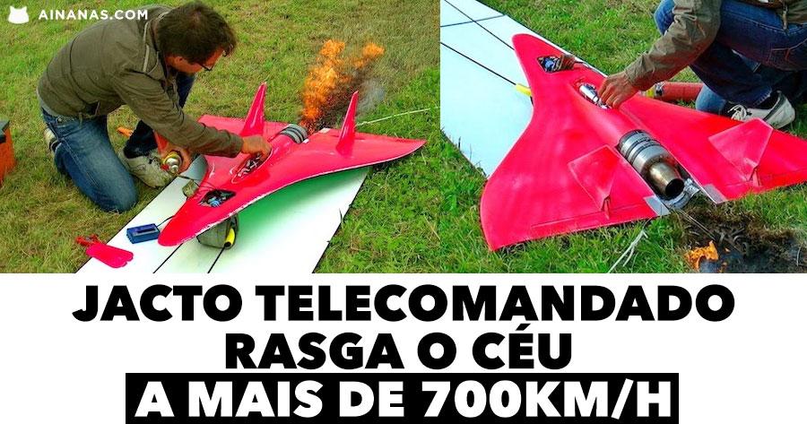 Jacto Telecomandado RASGA O CÉU a mais de 700km/h