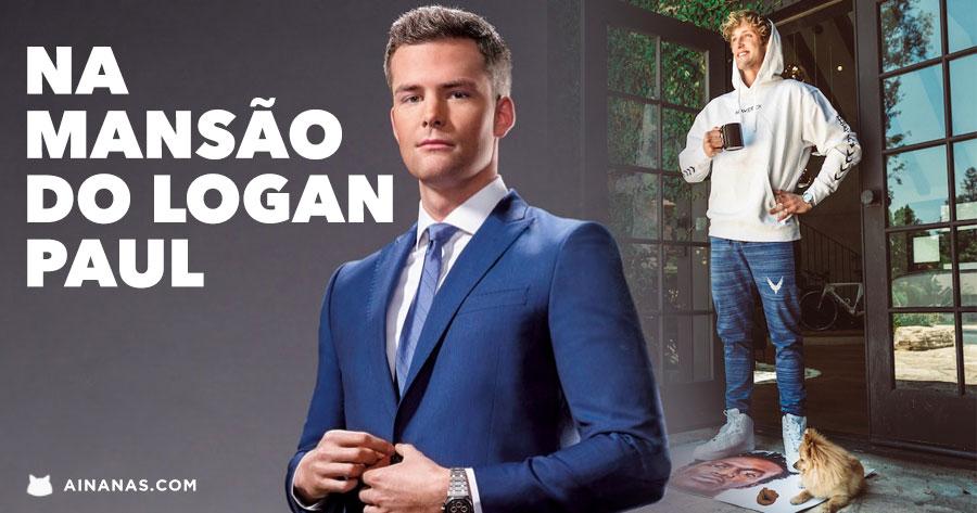 LOGAN PAUL: youtuber milionário mostra a sua casa a RYAN SERHANT
