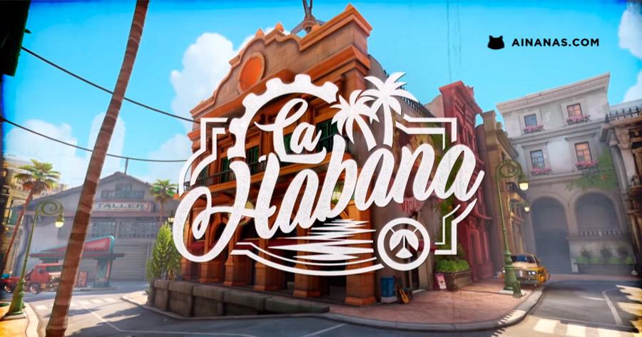 O mapa de Havana já saiu em Overwatch