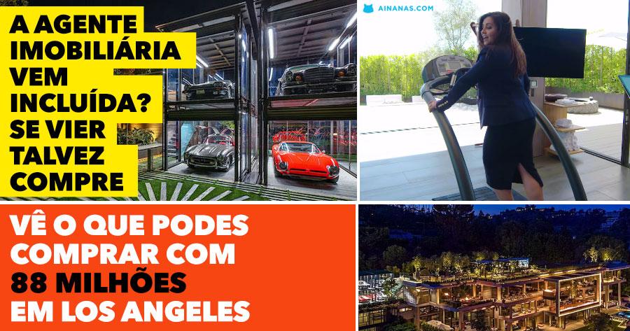Vê o que 88 MILHÕES dão para comprar em Los Angeles