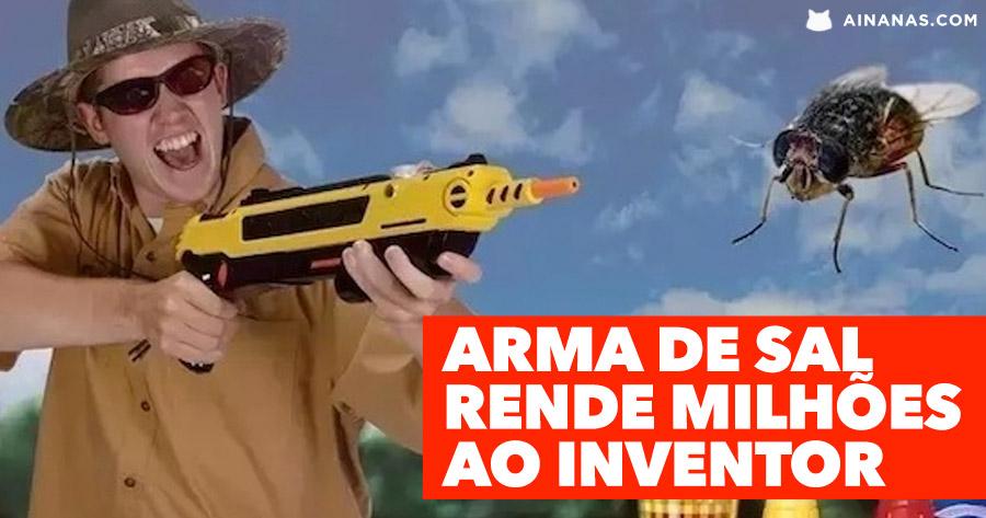 Arma de Sal rende MILHÕES ao seu inventor