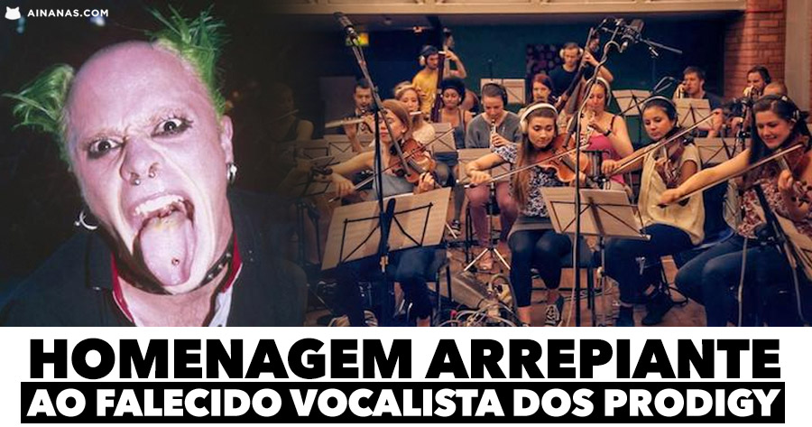 Orquestra presta homenagem arrepiante ao falecido vocalista dos PRODIGY