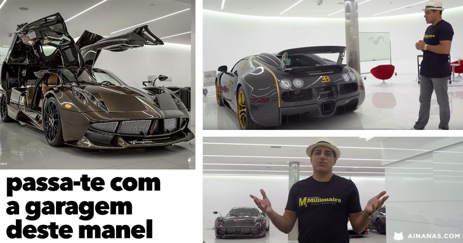 Passa-te com a garagem de sonho de Manny Khoshbin