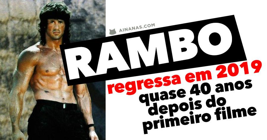 Não pode ser! Vem aí novo filme DO RAMBO!!!