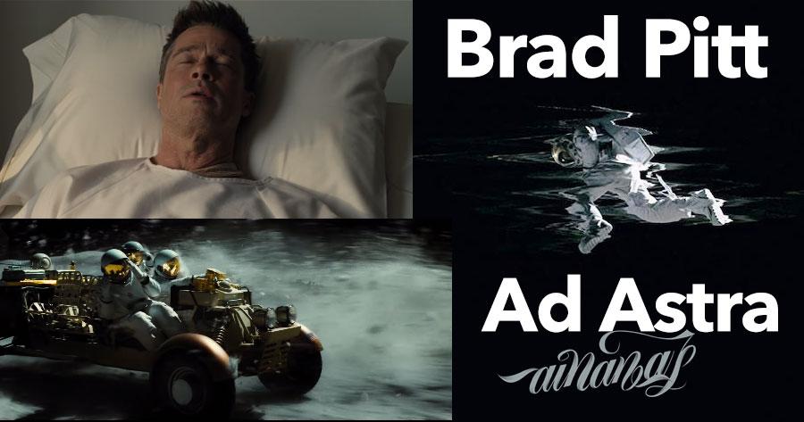 Brad Pitt torna-se viajante espacial em AD ASTRA