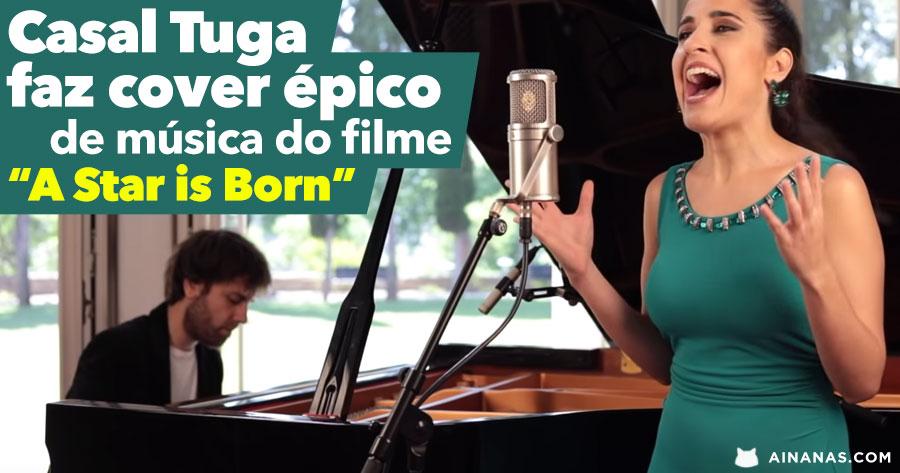 CASAL PORTUGUÊS faz cover épico de música de