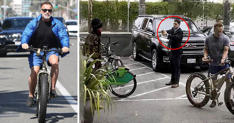 Tentaram GAMAR A BIKE do Schwarzenegger