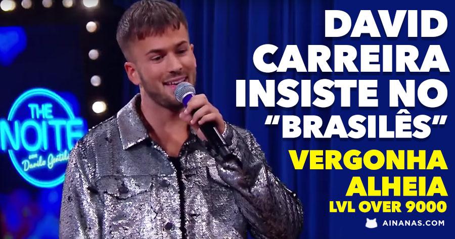 DAVID CARREIRA insiste no