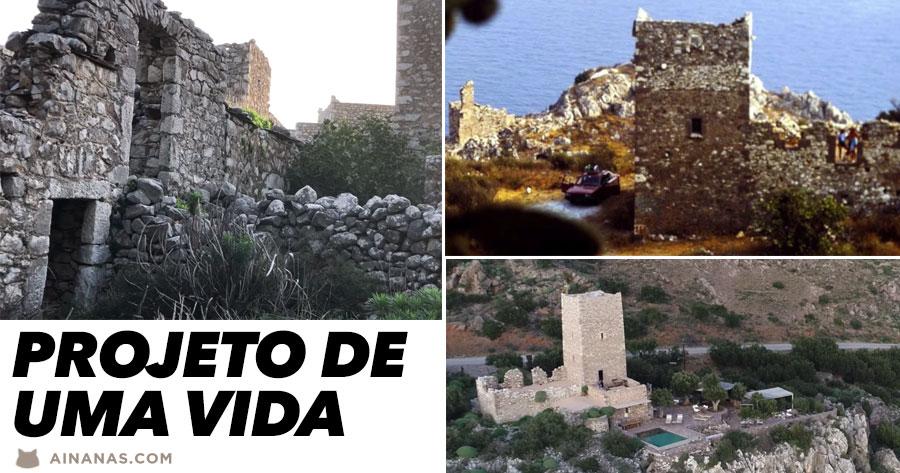 Projecto de uma vida: restaurar torre medieval perto de ESPARTA