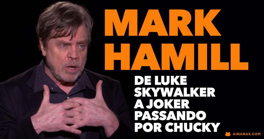 MARK HAMILL deu voz a alguns dos maiores psicopatas da ficção
