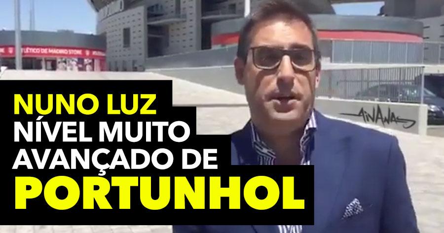 NUNO LUZ comenta a transferência do João Felix em Portunhol