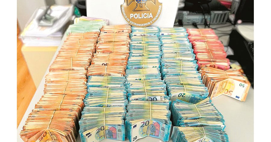 GERENTE DE BORDEL apanhado com 600 mil euros em casa