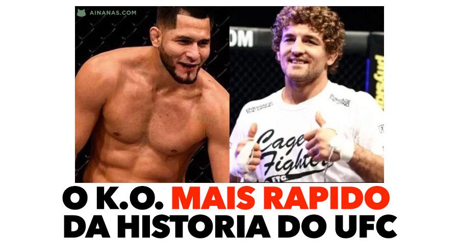 JORGE MASVIDAL faz o KO mais rápido da história do UFC