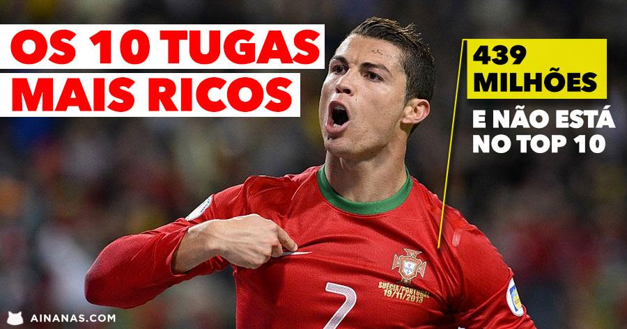 A lista dos PORTUGUESES MAIS RICOS