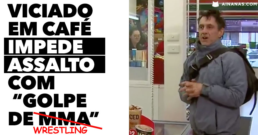 Viciado em Café IMPEDE ASSALTO com golpe de MMA