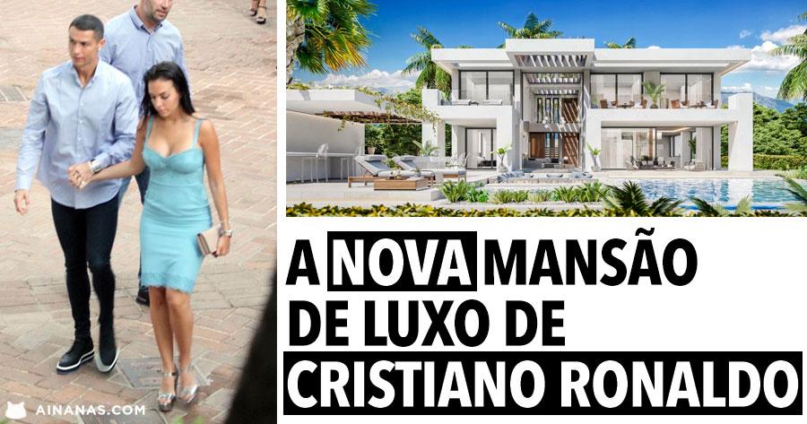 A nova mansão de Luxo de CRISTIANO RONALDO