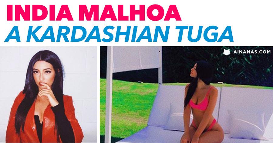 INDIA MALHOA: filha de Ana Malhoa comparada a Kardashian
