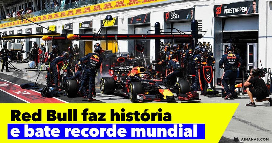 ABSURDO! Pit-Stop mais rápido da História
