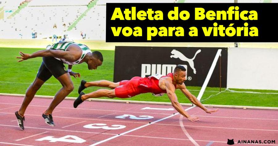 Atleta do Benfica VOA para a Vitória