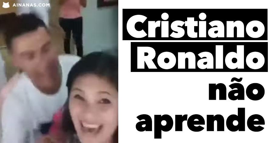 CRISTIANO RONALDO simplesmente não aprende!