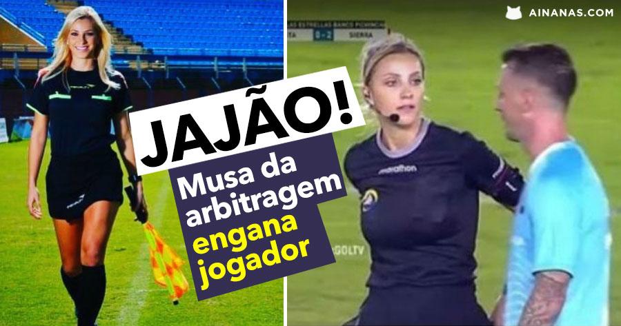 """""""Musa da Arbitragem"""" manda GRANDE JAJÃO a um jogador"""